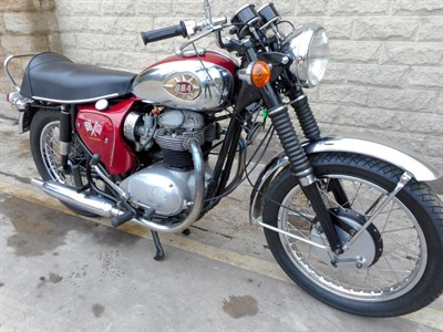 Lot 25 - 1966 BSA A65 Lightning