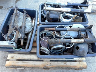 Lot 1-Various Parts & Wheels
