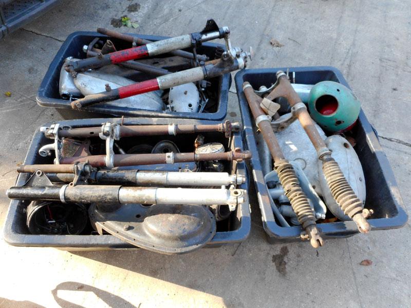 Lot 2 - Various Parts & Wheels