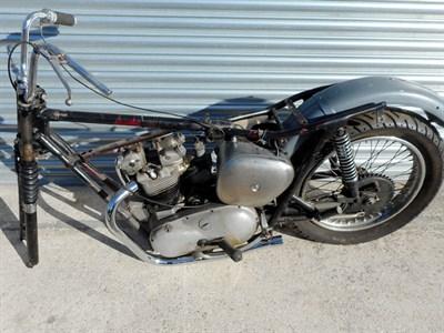 Lot 5-1961 Triumph TR6 Trophy