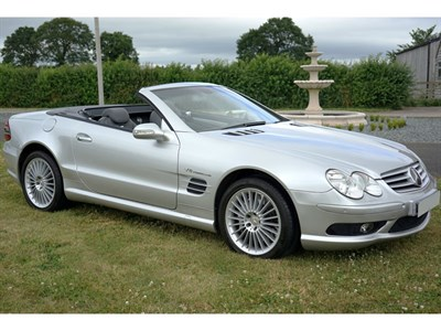 Lot 56 - 2002 Mercedes-Benz SL55 AMG Kompressor