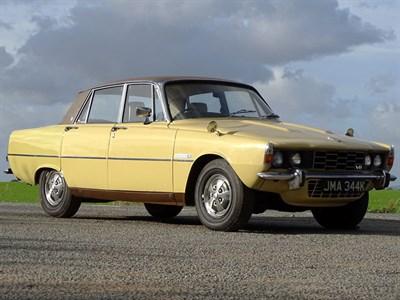 Lot 37-1972 Rover P6 3500 S