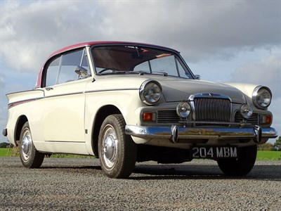 Lot 57 - 1963 Sunbeam Rapier Series IV