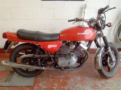 Lot 166 - 1979 Moto Morini 500 T