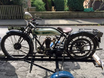 Lot 168 - 1925 Triumph Model P