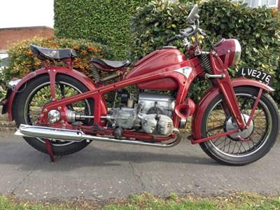 Lot 127 - 1940 Zundapp KS600