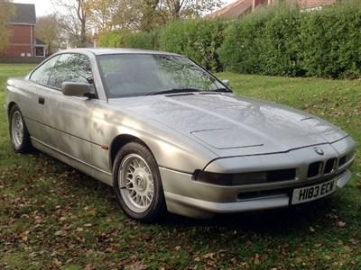 Lot 8-1991 BMW 850i