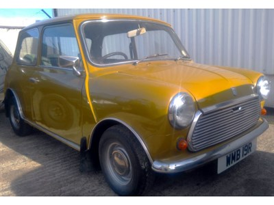 Lot 77 - 1977 Leyland Mini 1000
