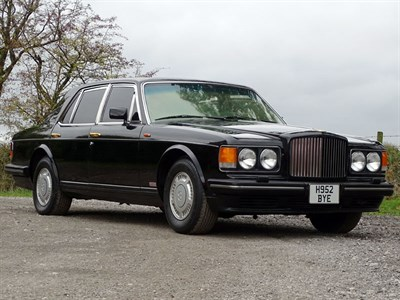 Lot 89 - 1990 Bentley Turbo R Armoured