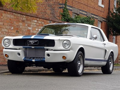 Lot 65-1966 Ford Mustang