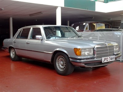 Lot 61 - 1980 Mercedes-Benz 450 SEL 6.9