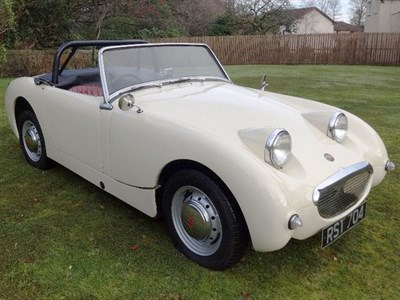 Lot 78 - 1961 Austin-Healey 'Frogeye' Sprite