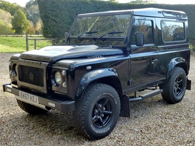 Lot 25 - 2007 Land Rover Defender 90 XS 'Kahn'