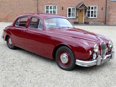 Lot 85-1956 Jaguar MK I 2.4 Litre