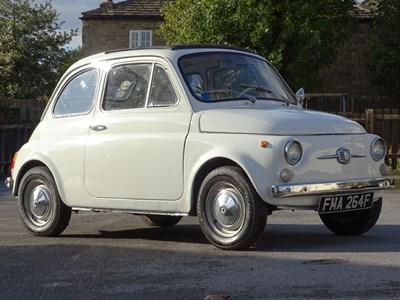 Lot 93-1968 Fiat 500 F