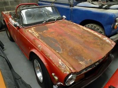 Lot 43-1973 Triumph TR6