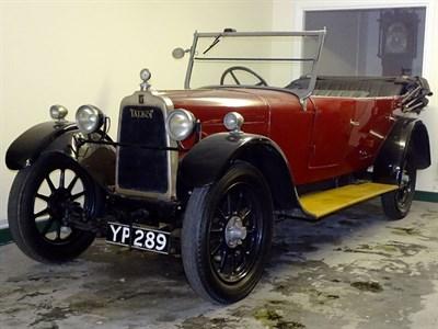 Lot 29-1926 Talbot 10/23 Tourer