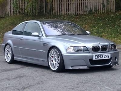 Lot 41-2003 BMW M3 CSL