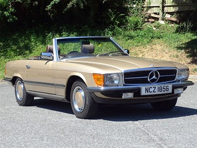 Lot 45 - 1985 Mercedes-Benz 280 SL