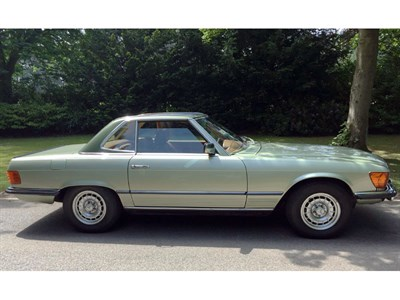 Lot 92 - 1979 Mercedes-Benz 350 SL