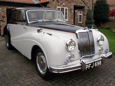 Lot 62-1954 Armstrong Siddeley Sapphire 346