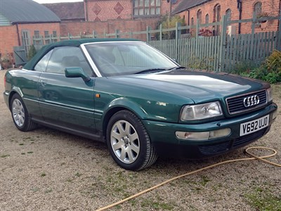 Lot 10 - 1999 Audi 80 2.6 Cabriolet 'Final Edition'