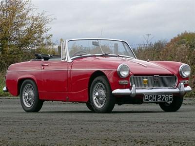 Lot 11-1967 MG Midget 1275