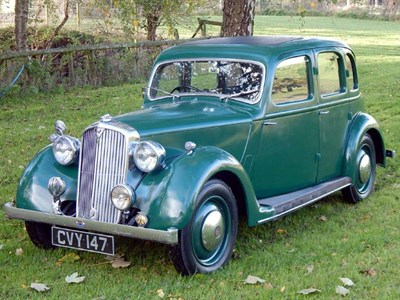 Lot 6 - 1946 Rover 10hp Saloon