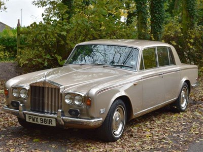 Lot 23 - 1976 Rolls-Royce Silver Shadow