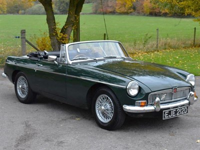 Lot 53 - 1966 MG B Roadster