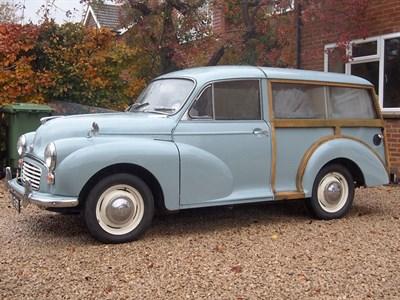 Lot 2 - 1966 Morris Minor 1000 Traveller