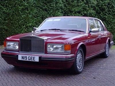 Lot 66 - 1996 Rolls-Royce Silver Spirit III