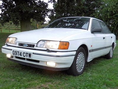 Lot 47-1990 Ford Granada 2.0i Ghia X