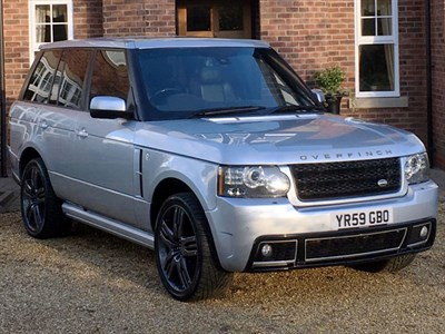 Lot 74 - 2009 Range Rover Vogue 3.6 TDV8 Overfinch