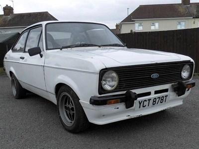 Lot 1001-1979 Ford Escort 1600 Sport