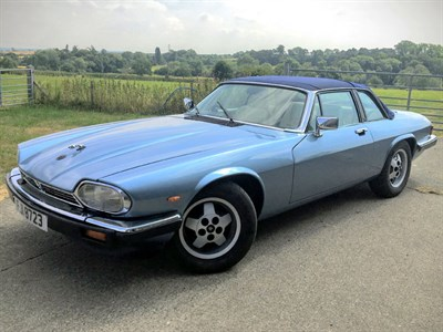 Lot 51-1987 Jaguar XJ-SC 3.6