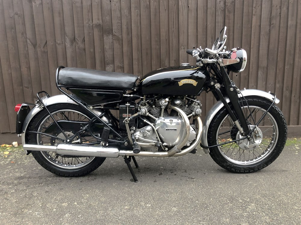 Lot 39 - 1951 Vincent Rapide Series C