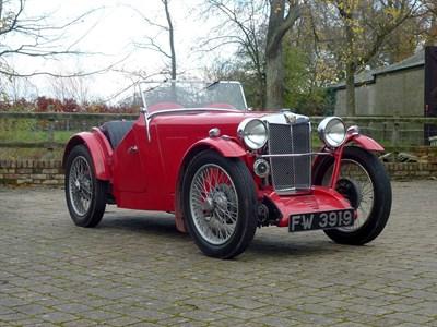 Lot 54-1933 MG J2