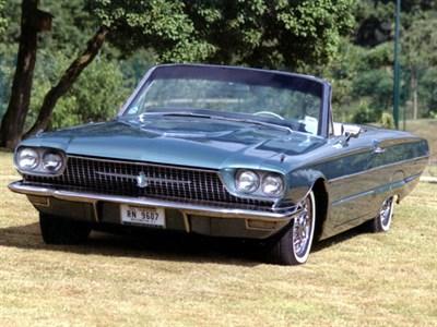 Lot 93 - 1966 Ford Thunderbird Convertible