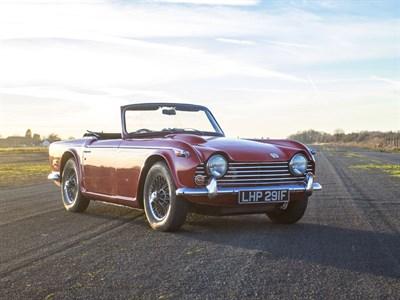 Lot 18-1967 Triumph TR5