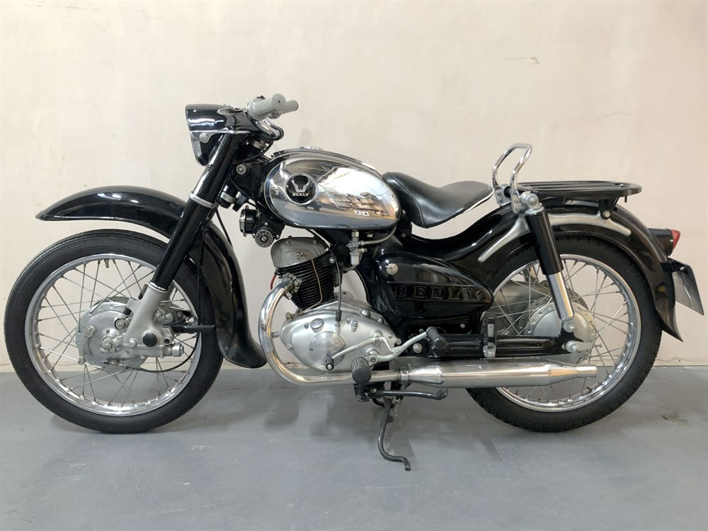 Lot 44-1957 Honda JC57 Benly