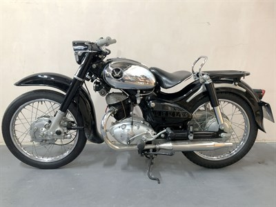 Lot 44-1957 Honda JC57 Benly