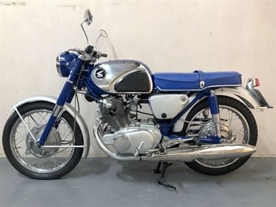 Lot 45-1961 Honda CB72
