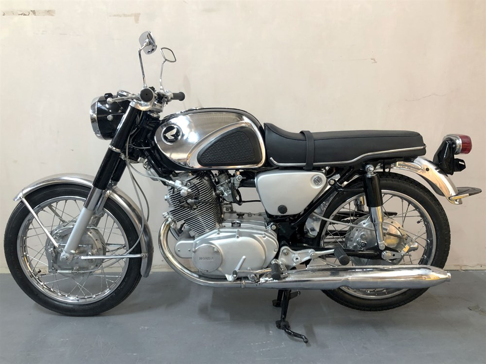 Lot 46 - 1967 Honda CB77 Super Hawk