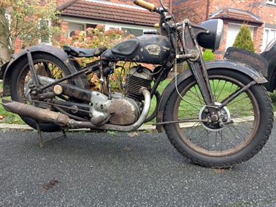 Lot 51-1939 Triumph Werke Nurnberg B350