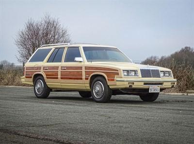 Lot 25-1985 Chrysler Le Baron Town & Country Station Wagon