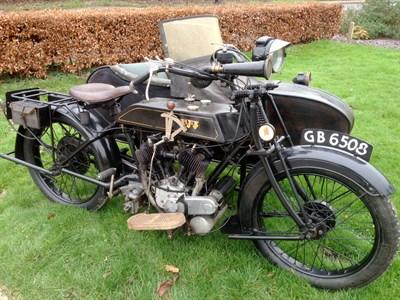 Lot 129-1924 AJS Model D Combination