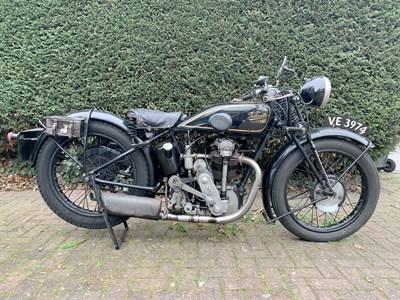 Lot 112-1929 Velocette KN