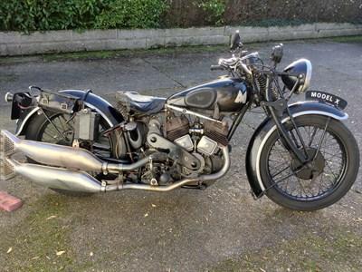 Lot 123-1932 Matchless Model X