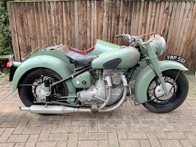 Lot 11-1950 Sunbeam S7 Combination